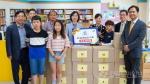 한국국방연구원 고성 간성초에 도서 기증