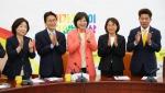 정의, 윤소하 원내대표 합의 추대…임기 1년 연장