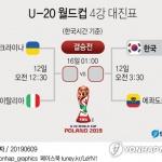 [U20월드컵] 한국 4강 상대는 에콰도르…'돌풍 vs 돌풍' 대결