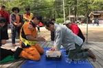 등산목 안전지킴이 활동 등산객의 안전사고 예방에 기여