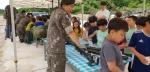 신철원초 군부대개방행사 참여