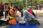 평창소방서 등산목 안전지킴이 건강체크 등 안전사고 예방 기여