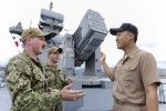 해군1함대 미해군 장교 실습