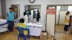 강원대병원-건강보험공단, 홍천 동면서 의료봉사 활동