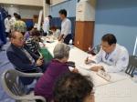 농업인 동해 바이오화력 발전 체육관서 행복버스 개최
