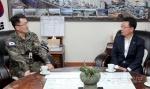 육군 21사단장 양구군수, 군부대 관련 현안 논의