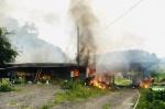 원주 주택서 불…치솟는 연기