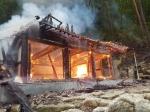 평창 사찰에서 화재