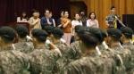 육군 12사단 신병교육 수료식