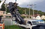 원주서 승용차 추락…운전자 사망