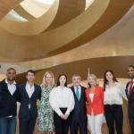 김연아, IOC 새 본부 개관식 참석…전설들과 나란히