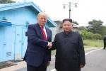 판문점 북미 정상 '역사적인 만남'