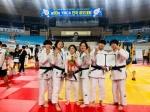 원주영서고 전국유도대회 단체전 준우승