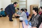 평창군수 노인·장애인 복지시설 방문
