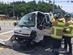 평창 봉평서 교통사고로 3명 부상