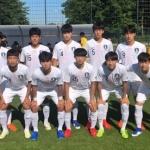 U-17 축구대표팀, 바이에른 뮌헨 U-19 팀에 2-0 승리