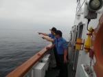 동해해경청장 접경해역 점검