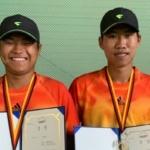 한림대 테니스 전원 메달 전국제패