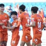 6경기 연속 무패·4위 등극 경남 잡고 상위권 굳힌다