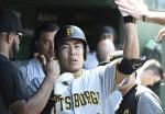 강정호, 컵스 에이스 레스터에게 후반기 첫 홈런