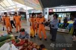 고성소방서 거진전통시장 활성화 캠페인