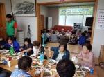 홍제동 새마을회 경로당 음식 나눔