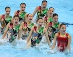한국 아티스틱 수영, 프리 콤비네이션 예선 11위로 결승행
