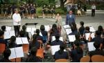 삼육중 등굣길 음악회