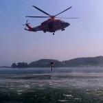 강원소방, 여름철 수난사고 대비 항공구조훈련