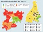 춘천 읍면동 84% '지방소멸위험' 주의단계