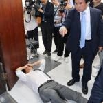 폭로전·삿대질·몸싸움…바른미래, '돌아올 수 없는 강' 건너나