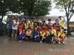 강릉시종합자원봉사센터 지역 어르신 삼계탕 나눔 봉사