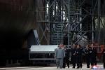 北김정은, 판문점 회동후 첫 군사행보…새로 건조한 잠수함 시찰