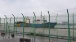 북 나포 러시아 어선 속초항 입항