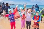 고성 봉포해변 오징어·조개잡이 행사