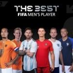 한국서 '노쇼 논란' 호날두, FIFA 올해의 선수 후보