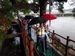 극심한 가뭄속 단비 내려 축제 '흥행예감'