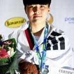 장현지, 세계 유소년태권도 동메달