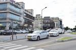 안목커피거리 회전교차로 인근 택시승강장 불편
