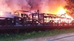 대관령 리조트 목조건물 화재