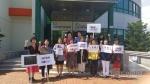 고성군, 여성단체협회 일본규탄대회