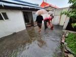 속초 설악동 250㎜ 집중호우…주택가 침수 피해 속출