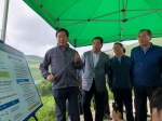 함용문 농협본부장 고랭지밭 점검