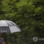강원 영서 낮 최고 33도 폭염, 영동은 빗방울 뚝뚝