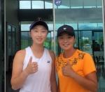 강원 테니스 최강 자매 '원팀' 결성 국제무대 금빛 도전