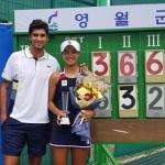 테니스 유망주 구연우, ITF 영월 국제 여자대회 우승