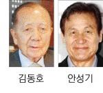 김동호 조직·안성기 자문 위원장