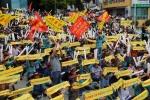 횡성축협 한우축제 배제 반발 대규모 시위