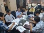 농협 강원본부 태풍 대책회의