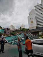 원주 태풍 '링링' 피해 속출